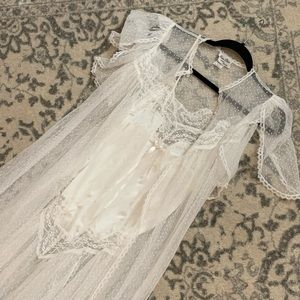 Vintage Miss Dior Bridal Lingerie Set